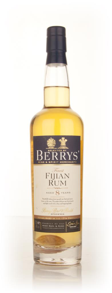Fijian 8 Year Old Rum - (Berry Bros. & Rudd) Dark Rum