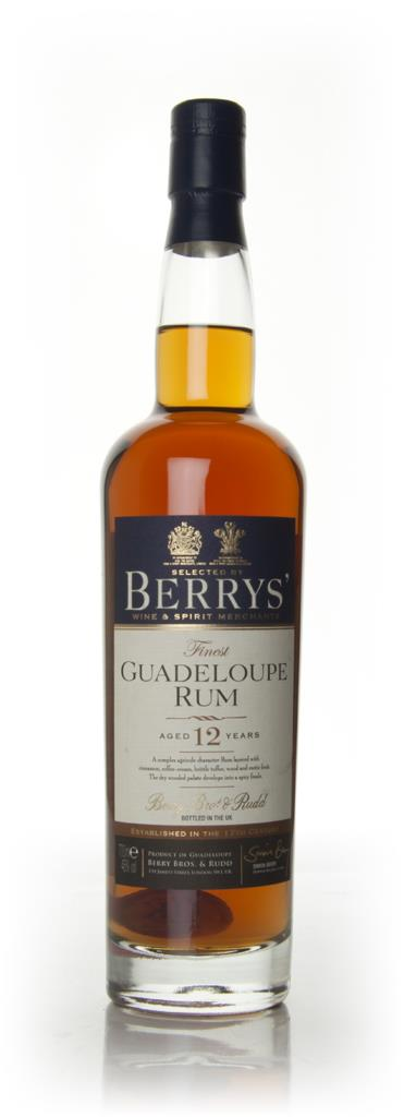 Guadeloupe 12 Year Old 1998 (Berry Bros. & Rudd) Dark Rum