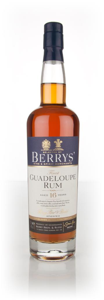 Guadeloupe 16 Year Old Rum (Berry Bros & Rudd) Rhum Agricole Rum