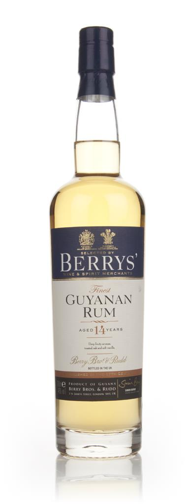 Guyanan Rum 14 Year Old (Berry Bros. & Rudd) Dark Rum