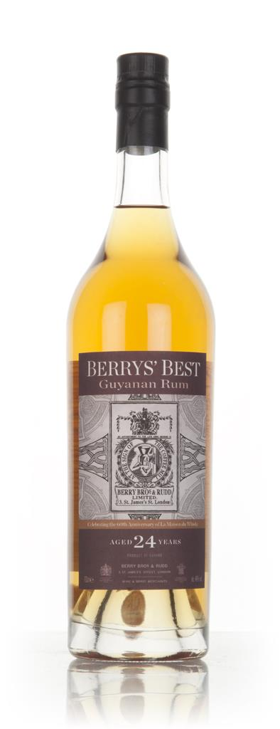 Guyanan Rum 24 Year Old - Berrys Best (Berry Bros. & Rudd) (La Maison Dark Rum