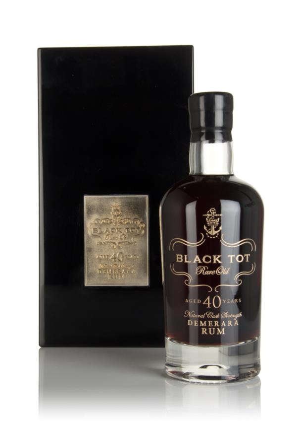 Black Tot 40 Year Old Dark Rum