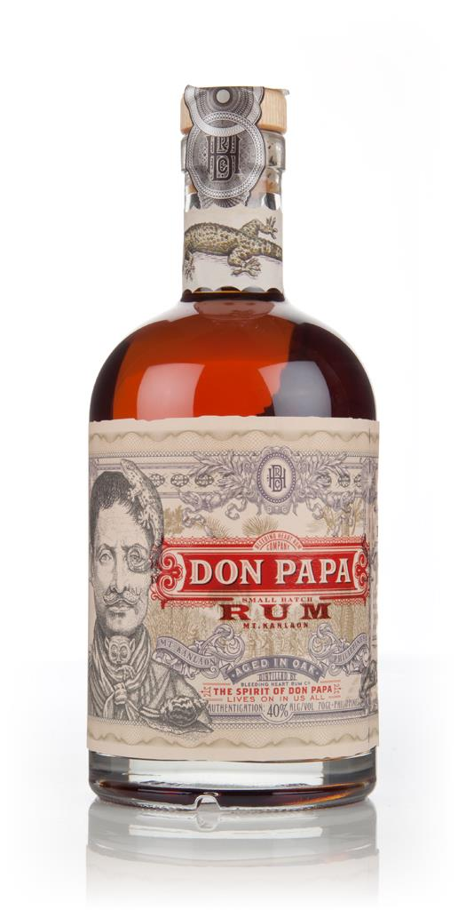 Don Papa Small Batch Rum 3cl Sample Dark Rum