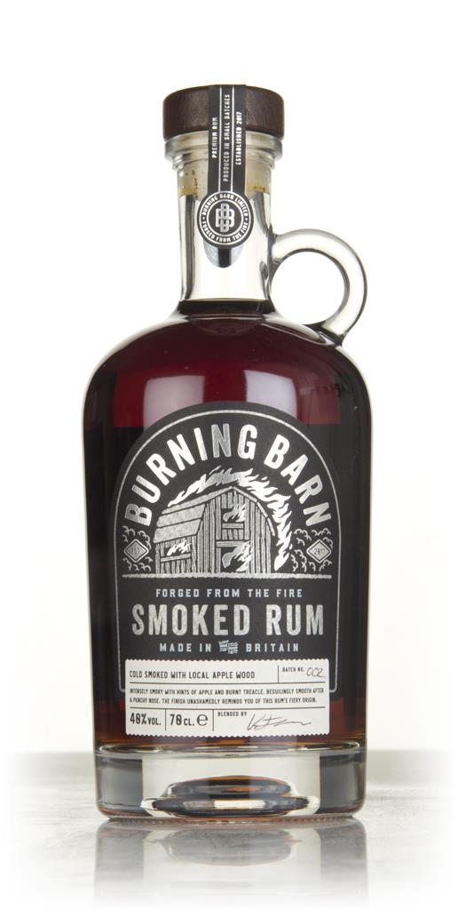 Burning Barn Smoked Rum 3cl Sample Dark Rum