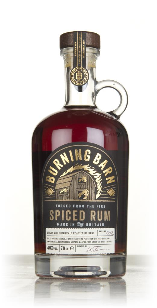 Burning Barn Spiced Rum 3cl Sample Spiced Rum