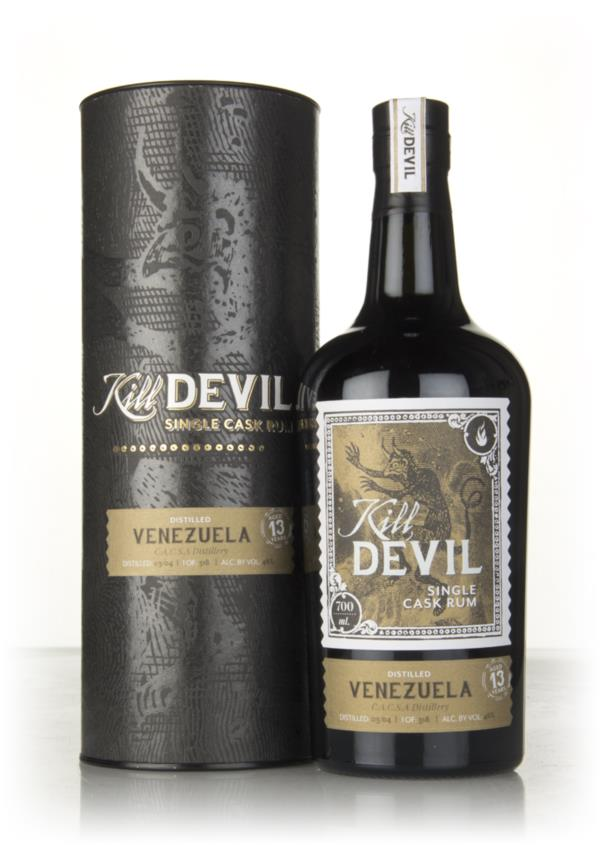 C.A.C.S.A. 13 Year Old 2004 Venezuelan Rum - Kill Devil (Hunter Laing) Dark Rum