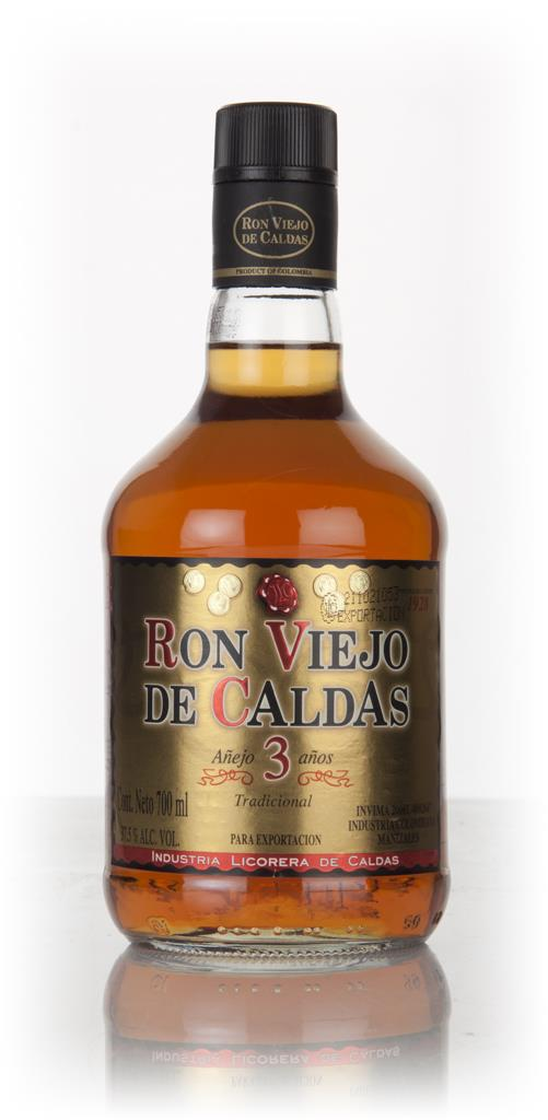 Ron Viejo De Caldas 3 Year Old Dark Rum