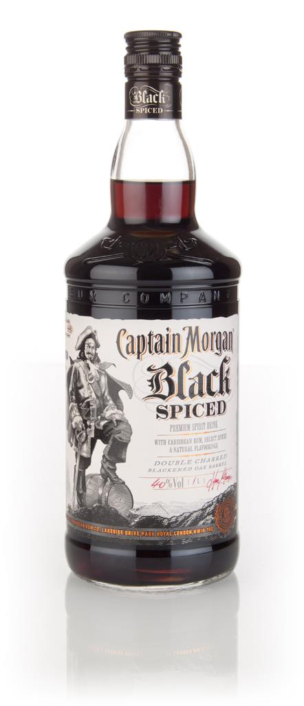 Captain Morgan Black Spiced 1l Spiced Rum