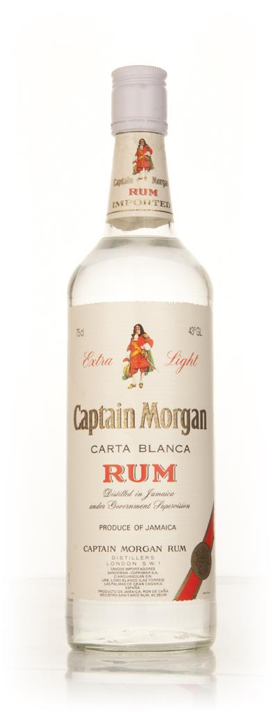 Captain Morgan Carta Blanca Extra Light - 1980s White Rum