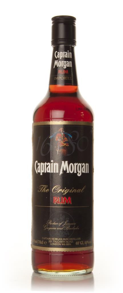 Captain Morgan Original Rum (old label) Dark Rum