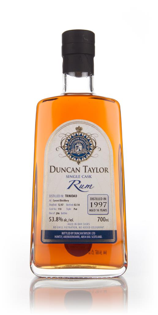 Caroni 16 Year Old 1997 (cask 110) - Single Cask Rum (Duncan Taylor) Dark Rum