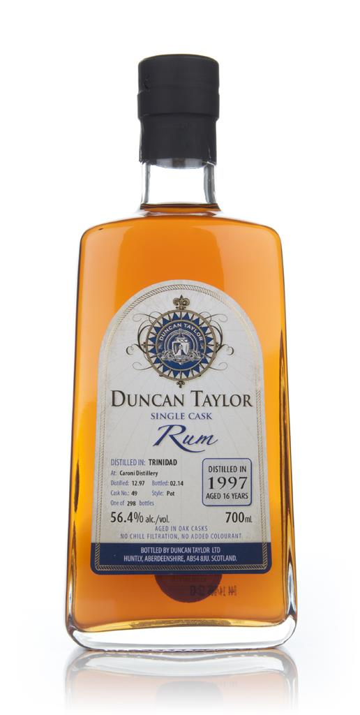 Caroni 16 Year Old 1997 (cask 49) - Single Cask Rum (Duncan Taylor) Dark Rum