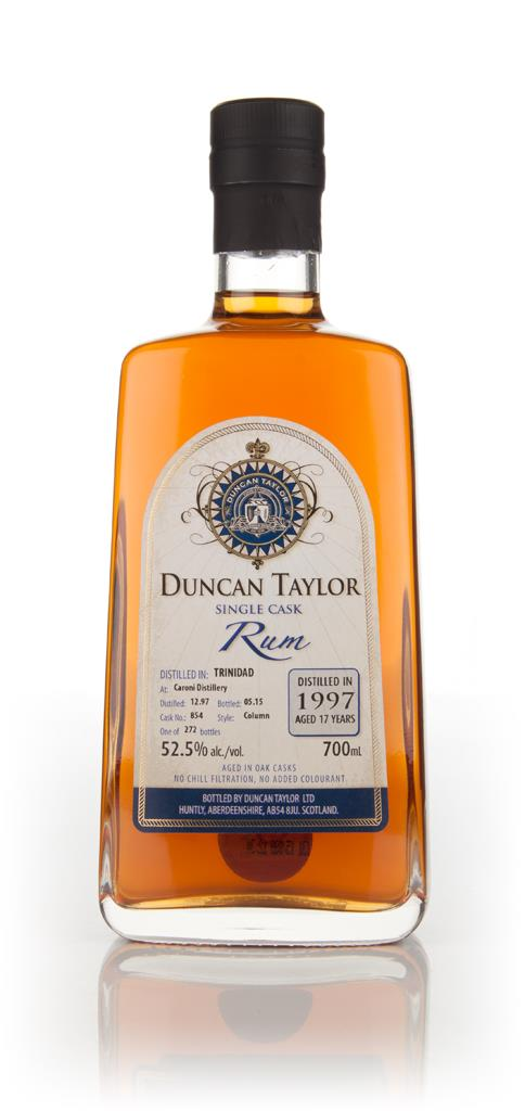 Caroni 17 Year Old 1997 (cask 854) - Single Cask Rum (Duncan Taylor) Dark Rum