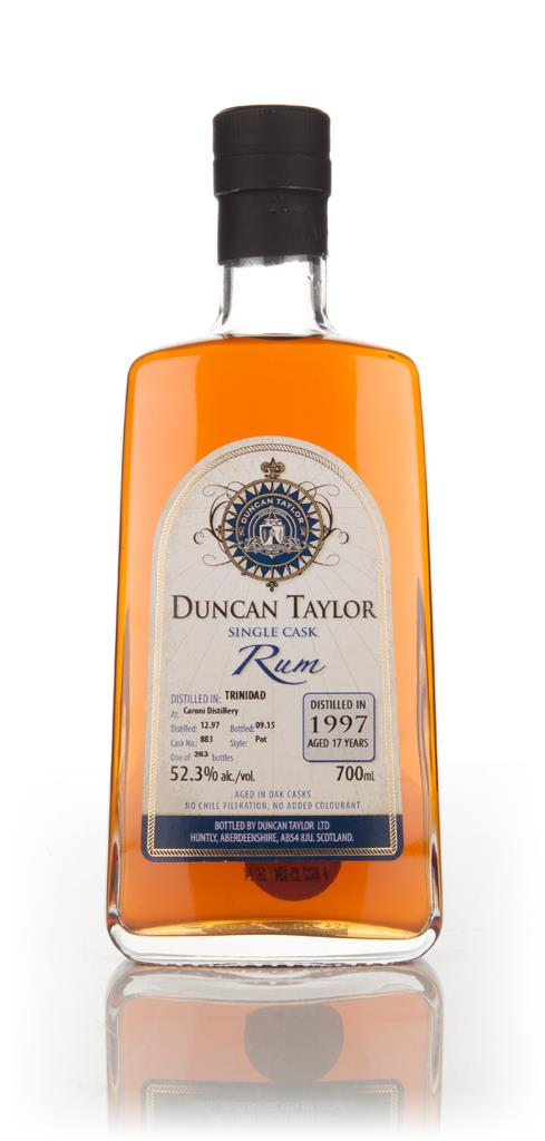Caroni 17 Year Old 1997 (cask 883) - Single Cask Rum (Duncan Taylor) Dark Rum