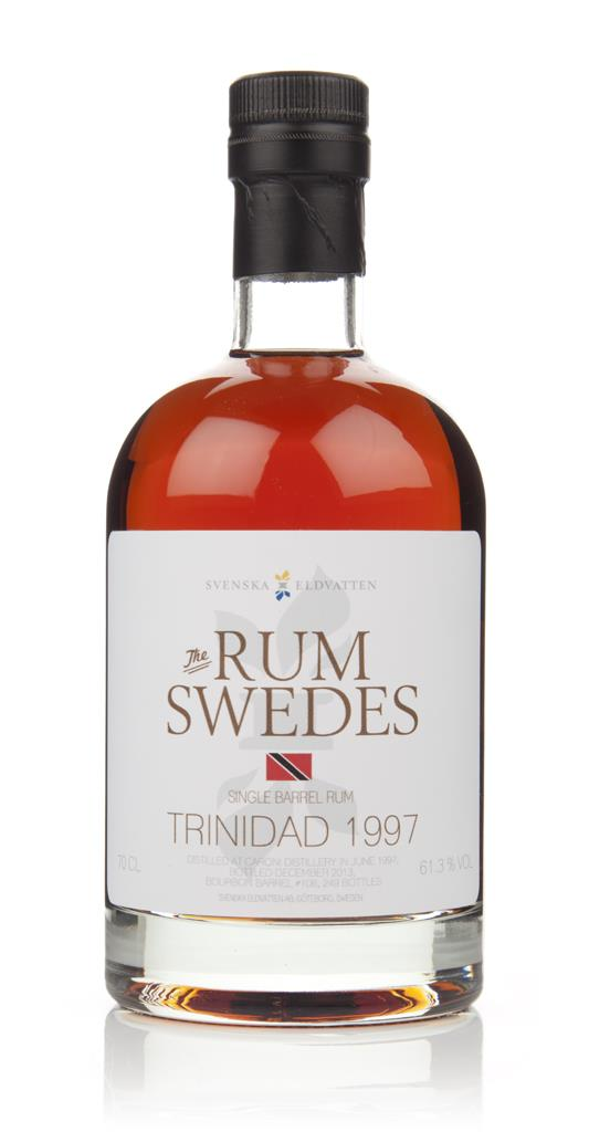 Caroni 1997 (cask 106) Trinidad Single Barrel Rum - The Rum Swedes (Sv Dark Rum