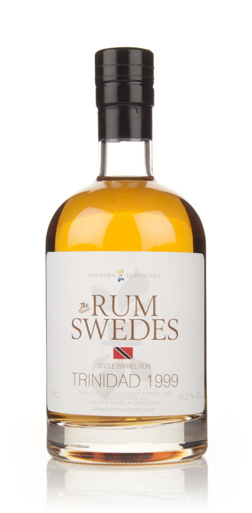 Caroni 1999 (cask 1) Trinidad Single Barrel Rum - The Rum Swedes (Sven Dark Rum