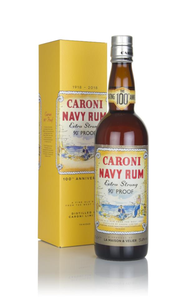 Caroni Navy Rum Extra Strong - 100th Anniversary Dark Rum