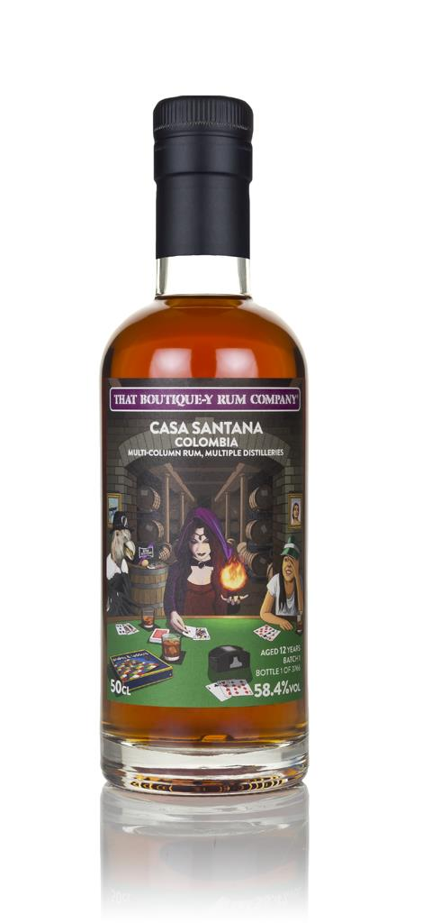 Casa Santana 12 Year Old (That Boutique-y Rum Company) Dark Rum