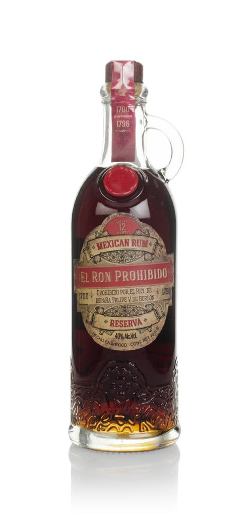 El Ron Prohibido Rum 3cl Sample Dark Rum