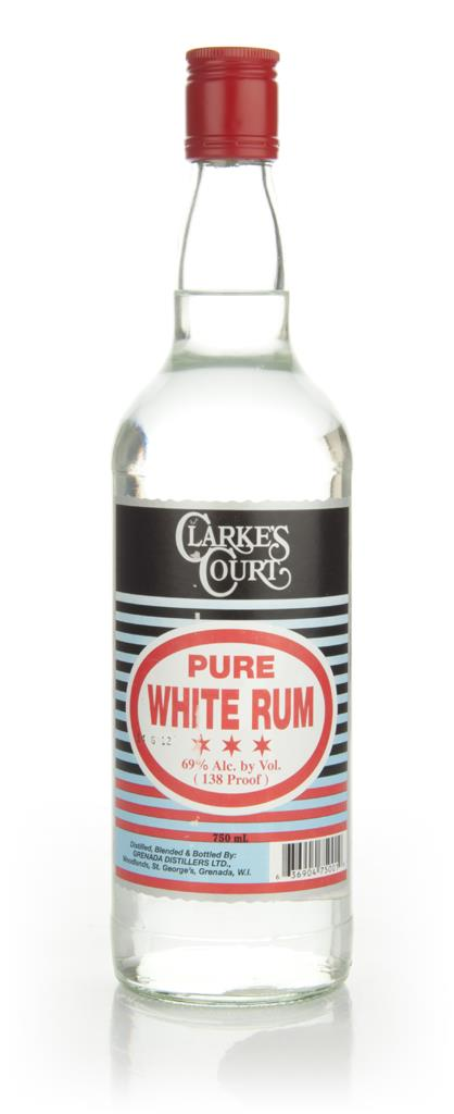Clarkes Court Pure White 3cl Sample White Rum
