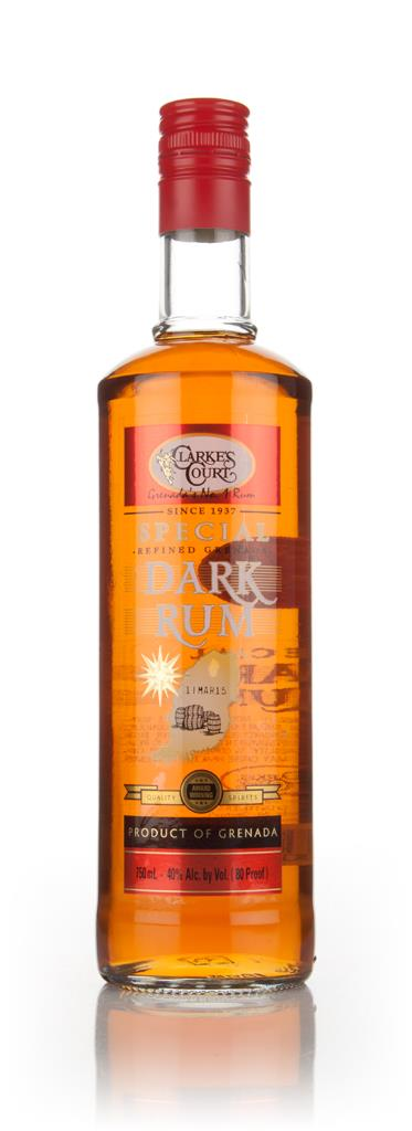 Clarke's Court Special Dark Rum 3cl Sample Dark Rum