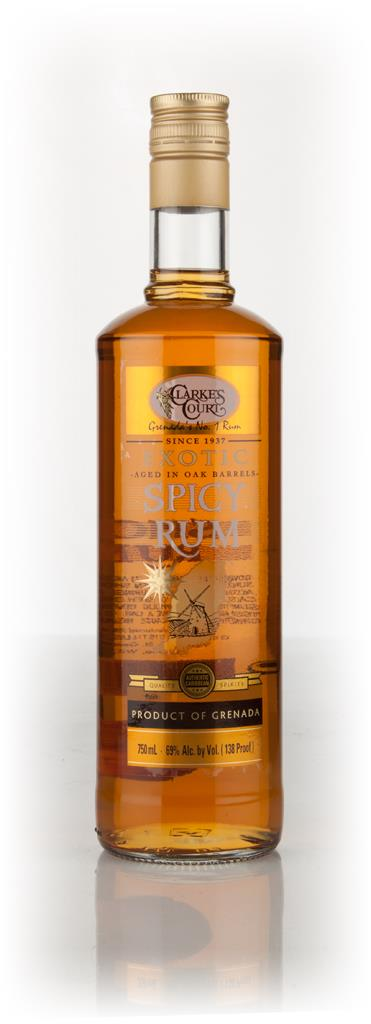 Clarkes Court Spicy Rum 3cl Sample Spiced Rum