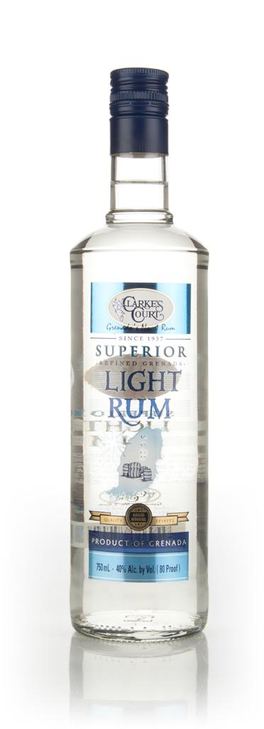 Clarkes Court Superior Light Rum 3cl Sample White Rum