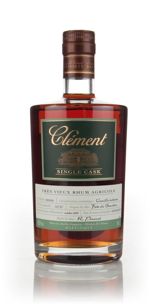 Clement 10 Year Old 2003 (cask 0310021) - Single Cask Rhum Agricole Rum