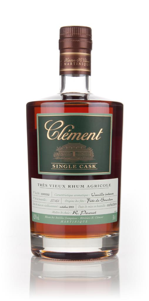 Clement 10 Year Old 2003 (cask 0310032) - Single Cask Rhum Agricole Rum