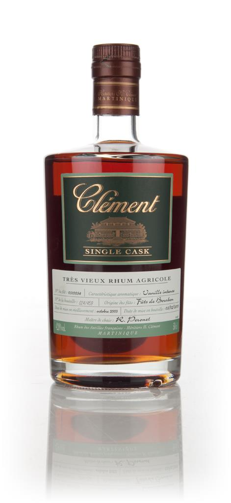 Clement 10 Year Old 2003 (cask 0310054) - Single Cask Rhum Agricole Rum