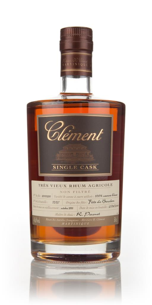 Clement 8 Year Old (cask 20100200) - Single Cask Rhum Agricole Rum