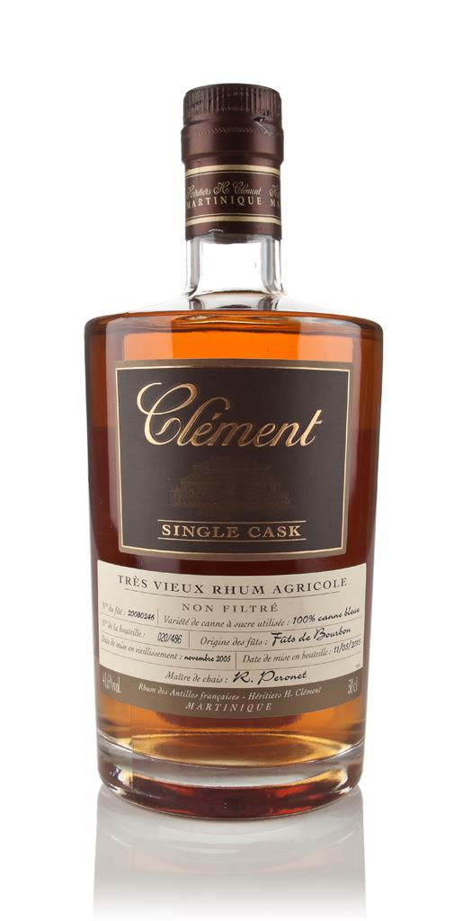 Clement 9 Year Old 2005 (cask 20080246) - Single Cask Rhum Agricole Rum