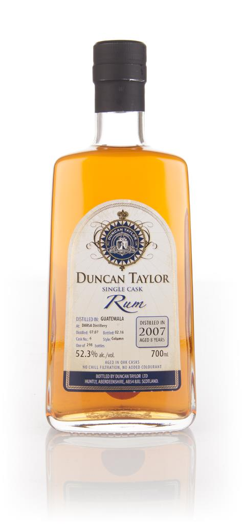 Darsa 8 Year Old 2007 (cask 6) - Single Cask Rum (Duncan Taylor) Dark Rum