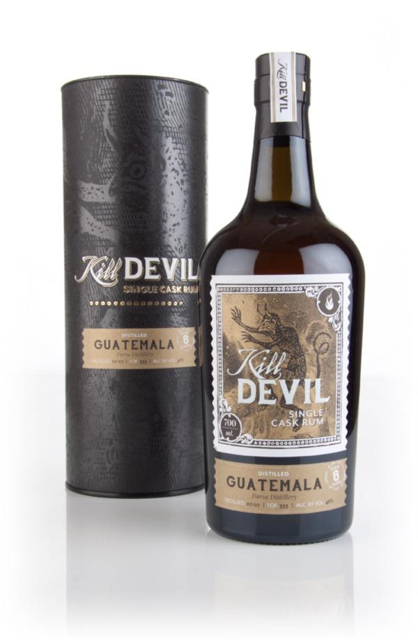 Darsa 8 Year Old 2007 Guatemalan Rum - Kill Devil (Hunter Laing) Dark Rum