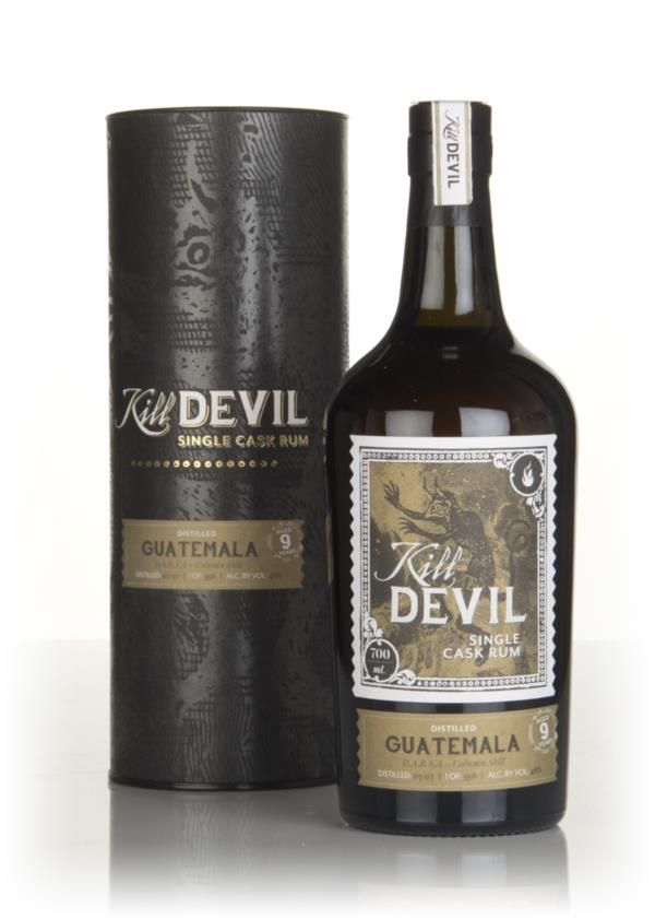 Darsa 9 Year Old 2007 Guatemalan Rum - Kill Devil (Hunter Laing) Dark Rum