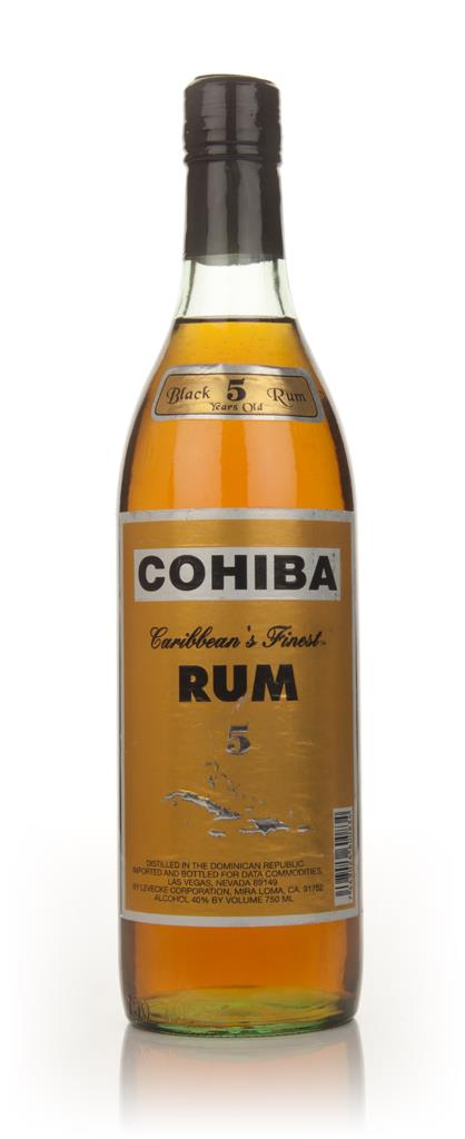 Cohiba Black Rum 5 Years Old - 1980s Dark Rum
