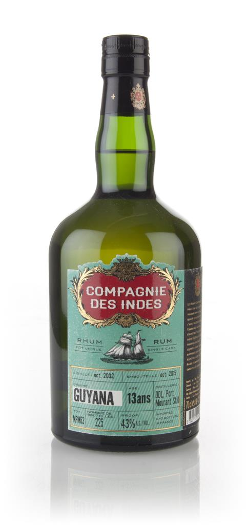 Demerara Distillers 13 Year Old - Guyana Rum (Compagnie des Indes) 3cl Dark Rum 3cl Sample