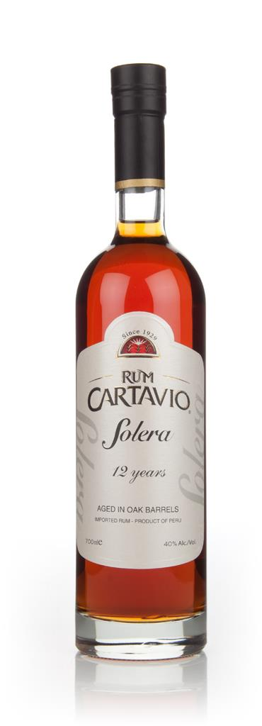 Ron Cartavio Solera 12 Year Old 3cl Sample Dark Rum