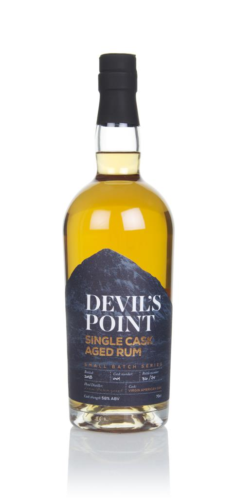 Devils Point Single Cask Aged Rum - Virgin Oak Dark Rum