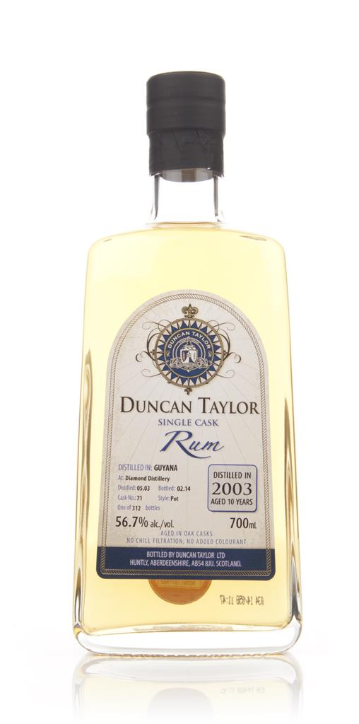 Diamond 10 Year old 2003 (cask 71) - Single Cask Rum (Duncan Taylor) Dark Rum