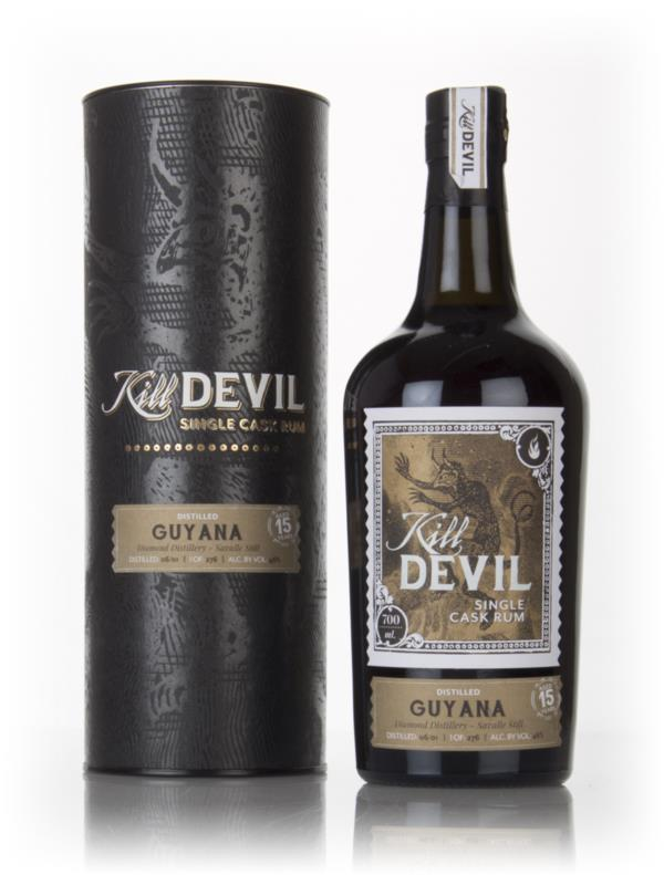 Diamond 15 Year Old 2001 Guyanese Rum - Kill Devil (Hunter Laing) Dark Rum