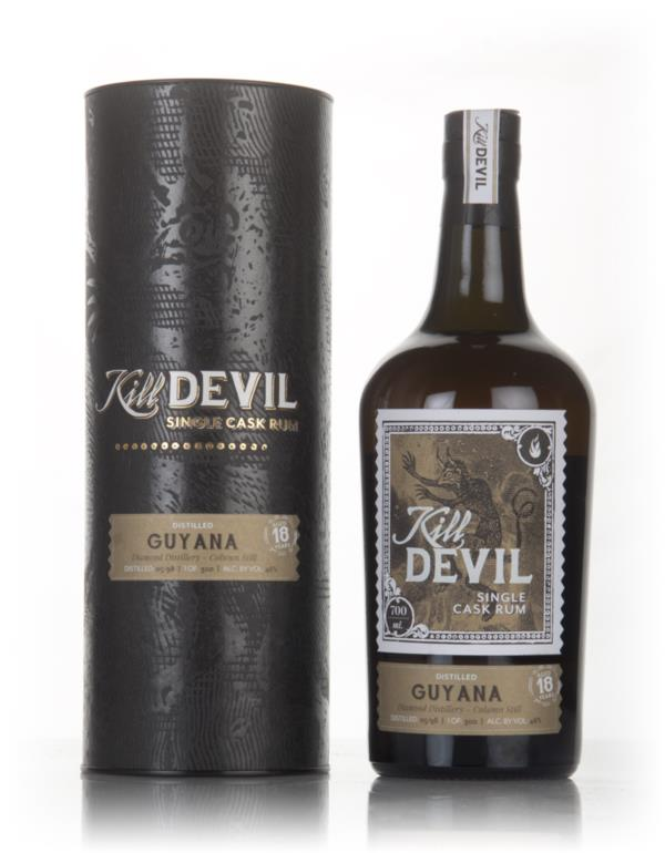 Diamond 18 Year Old 1998 Guyanese Rum - Kill Devil (Hunter Laing) Dark Rum