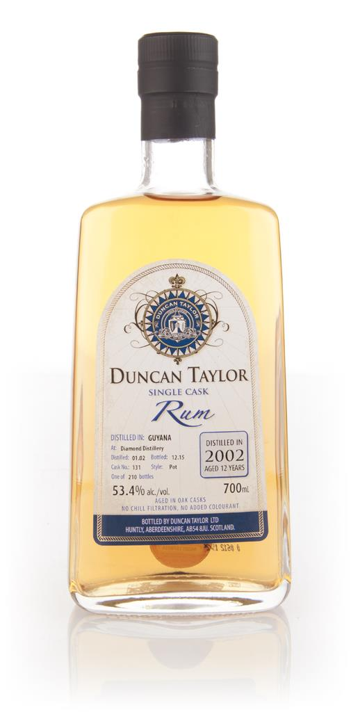 Diamond Distillery 12 Year Old 2002 (cask 131) - Single Cask Rum (Dunc Dark Rum