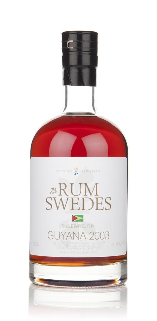 Diamond Distillery 2003 (cask 19) Guyana Single Barrel Rum - The Rum S Dark Rum