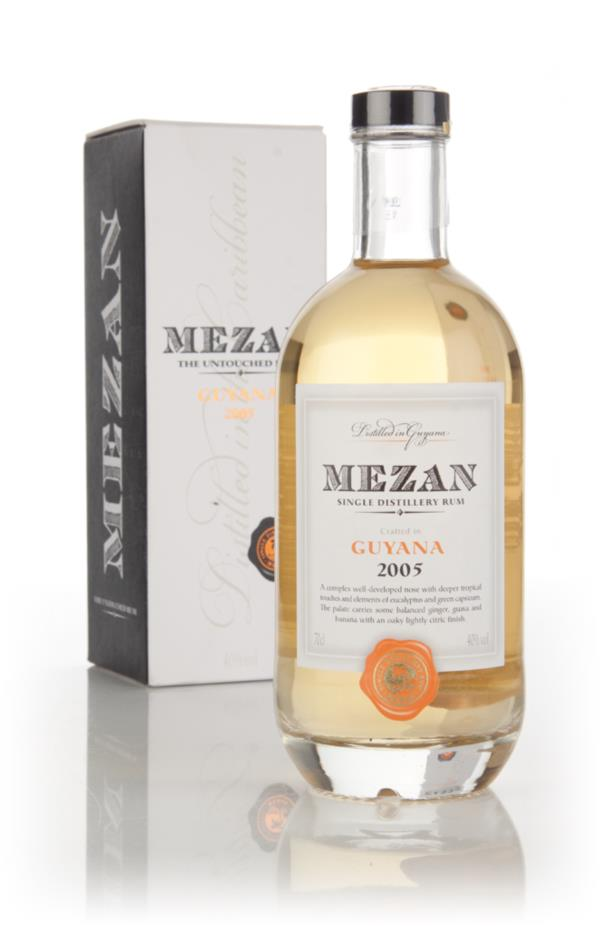 Mezan Guyana Diamond 2005 Rum 3cl Sample Dark Rum