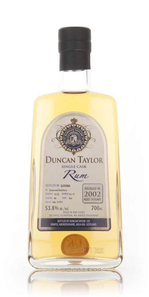 Diamond 14 Year Old 2002 (cask 90) - Single Cask Rum (Duncan Taylor) Dark Rum