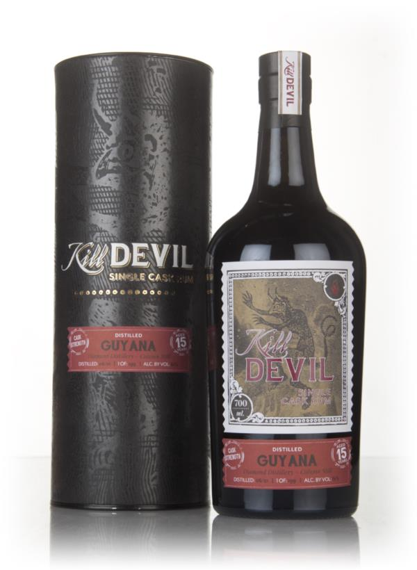 Diamond 15 Year Old 2001 Guyanese Rum - Kill Devil (Hunter Laing) 3cl Dark Rum 3cl Sample
