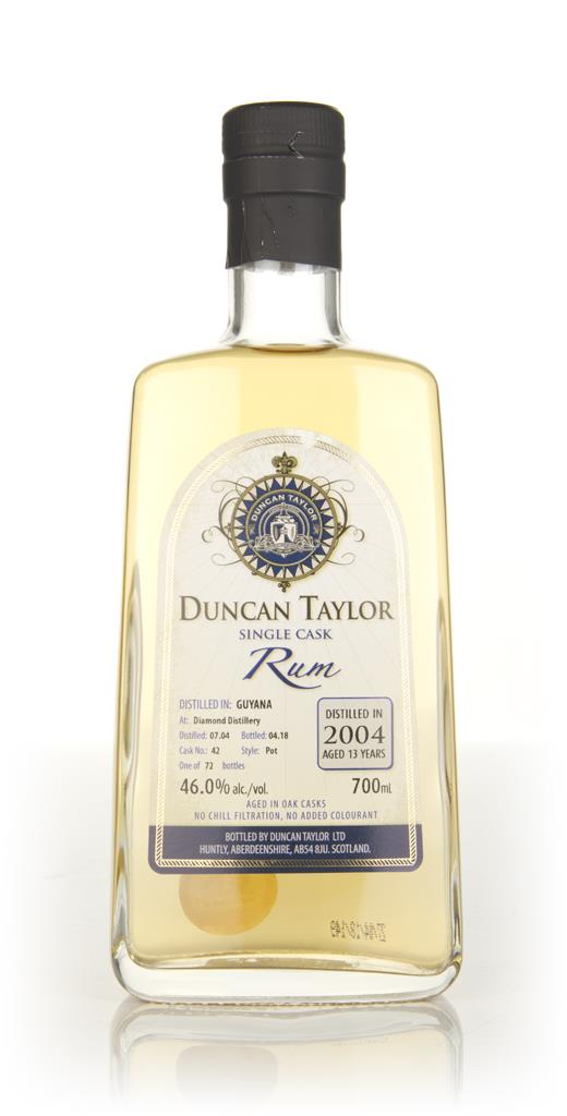 Diamond Distillery 13 Year Old 2004 (cask 42) - Single Cask Rum (Dunca Dark Rum