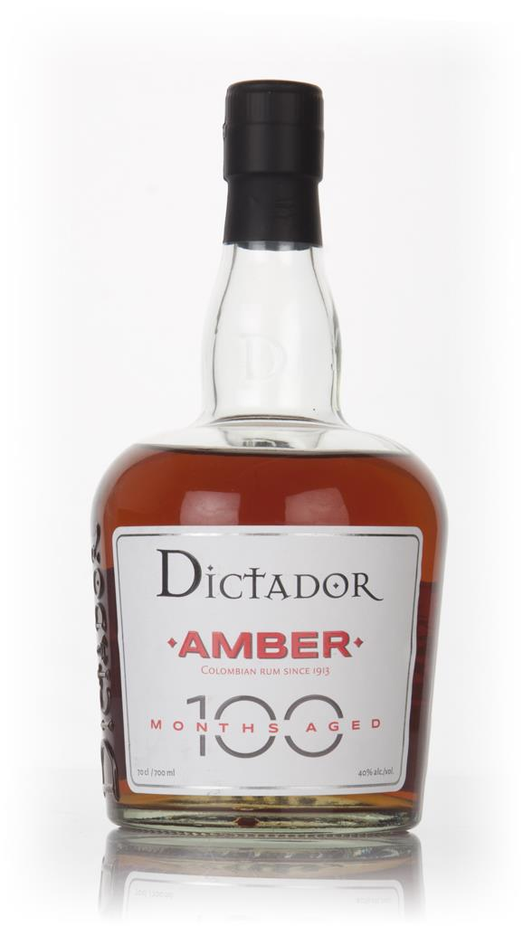 Dictador 100 Months Aged Amber Rum 3cl Sample Dark Rum