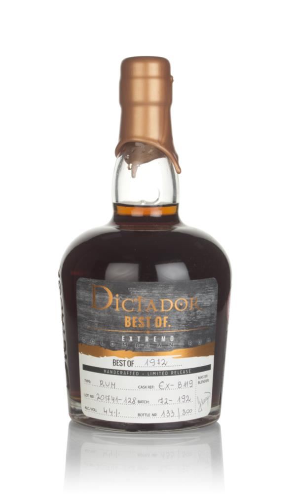 Dictador Best of 1972 - Extremo Dark Rum
